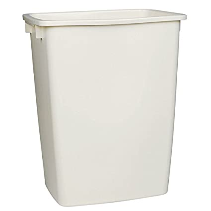 36 Qt Large Open Wastebasket Adorable Amazon Rubbermaid FG60TPWHT 60 Quart White Open Wastebasket