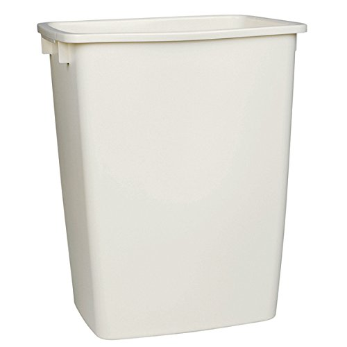 Rubbermaid FG2806TPBISQU 36 Qt Bisque Open Wastebasket (Rubbermaid Stackable Baskets)