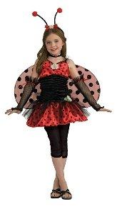 Ladybug Child Costume Size 4-6 Small