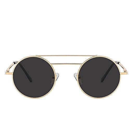 Double en homme Lunettes luxe UV400 TIANLIANG04 Faisceaux métal Lunettes qualité de soleil femme en soleil de pour de de Eyewear de pour Lunettes mode rond xpqwPzqIX