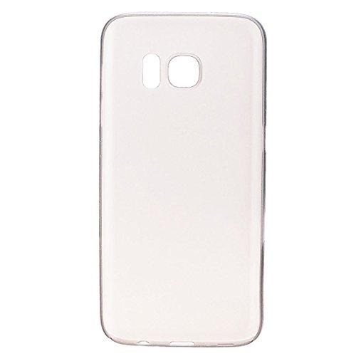 wanit UltraSlim 0.3mm Schutzhülle für Samsung Galaxy S7 Hülle Ultra Dünn FeinMatt Bumper Cover Schutz, Zweite Haut schale (Transparent)