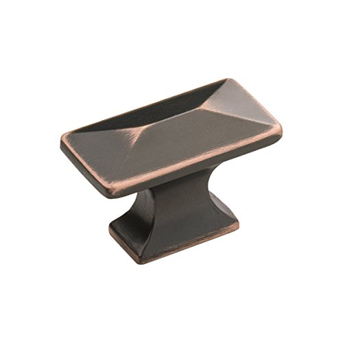 Hickory Hardware P2150-OBH 1-1/4-Inch Bungalow Cabinet Knob, Oil-Rubbed Bronze Highlighted