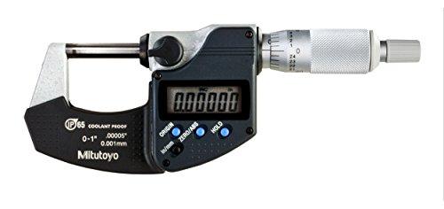 - Mitutoyo 293-340-30CAL Digimatic Micrometer with Calibration, 1