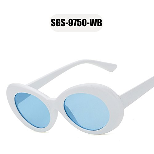 gafas nuevas de marca mujeres sol Tortuga sol WB moda 2018 la Marco gafas gafas gafas OMAS mujeres ovales Tortuga peso de hombres de de Marrón diseñador OETPnw