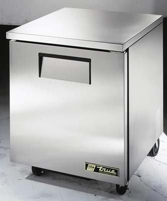 True TUC-27-LP Undercounter Refrigerator - Low Profile One Door, 27-5/8