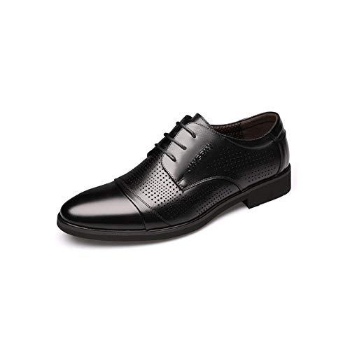 5 Noir Véritable Chaussures uk6 En Pour Ff Cuir cn40 Hommes Size couleur Eu39 6wqaP0