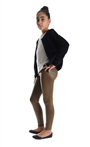 d62453f48f034 Dinamit Jeans Girls Shiny Metallic Color Elastic Leggings available ...