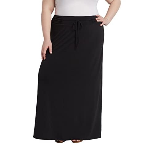 f1c233574 80%OFF Maurices Women's Plus Size Maxi Skirt With Tie Waist ...