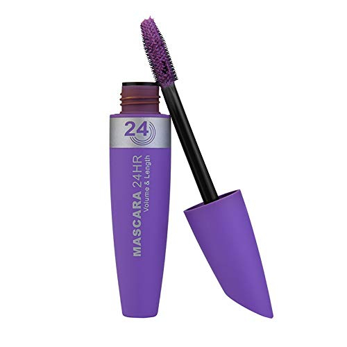 10G Long Curling 4D Silk Fiber Eyelash Makeup Eyelash Multicolor Waterproof Fiber Mascara Eye Lashes Maquiagem Purple - Ysl Waterproof Mascara