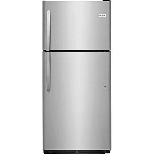 Frigidaire FFHT2021TS 30 Inch Freestanding Top Freezer Refrigerator with 20.4 cu. ft. Total Capacity, in Stainless Steel