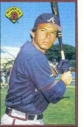 1989 Bowman #275 Darrell Evans