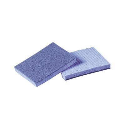 Scotch Brite Soft Scour Scrub (Soft Scour Scrub Sponge in Blue (1Case) by)