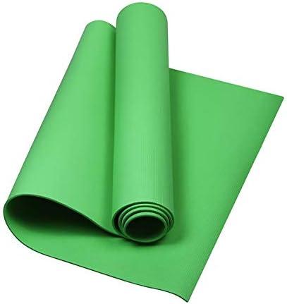Eco friendly 厚さ4mmヨガマットEVAすべり止め軽量フィットネスパッドワークアウトエクササイズジムピラティス瞑想マット exercise (色 : Light Green)