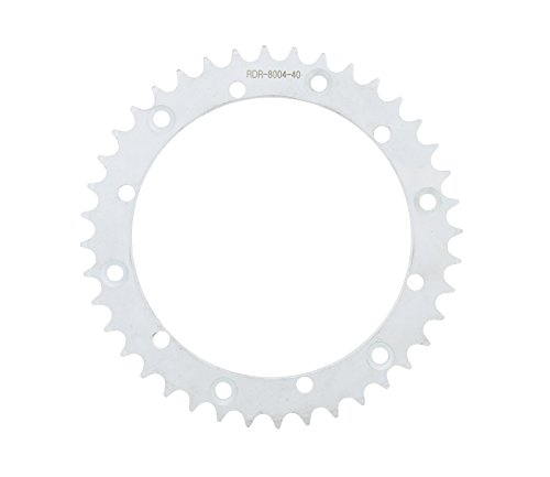 Race Driven OEM Replacement 40 T Rear Silver Sprocket 520 Pitch for Yamaha Blaster YFS200 YFS 200 Warrior YFM350 YFM 350