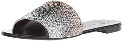Giuseppe Zanotti Women's E800165A Flat Sandal Rose 9 Medium ()