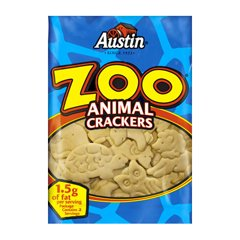 Crackers Austin Zoo - Kellogg's Austin Zoo Animal Crackers, 2 Ounce (Pack of 80)
