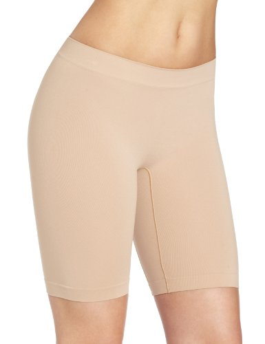 Barely There Women's Smooth A'tude Light Control Thigh Slimmer, Nude, XX-Large