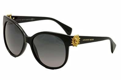3e19a2a8b65 Amazon.com  Alexander McQueen 4252 Eyeglasses Color 08JD 00  Shoes