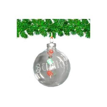 Clear Glass Bunco Ornament - Amazon.com: Clear Glass Bunco Ornament: Home & Kitchen