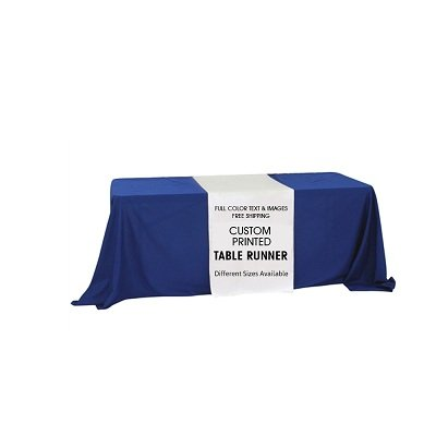 BANNER BUZZ MAKE IT VISIBLE Thanks Giving Table Runner with Custom Design (Free Design) (2' X 5.67') ()