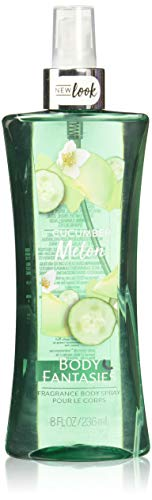 Splash Cucumber Body Melon - Body Fantasies Signature Cucumber Melon Fragrance Body Spray for Women, 8 Ounce