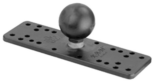 "National Products RAM-111B 6 1/4"" X 2"" Ram Marine Electronic Base"