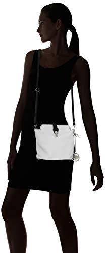 Bolsos Chicca Multicolor Mujer De Borse nero Shoppers Hombro Cbc3322tar bianco Y q1CwI8r1x