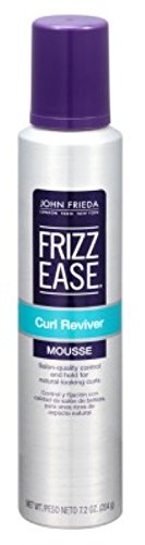 John Frieda Frizz-Ease Curl Mousse Reviver Stlying 7.2 Ounce (213ml) (6 Pack)
