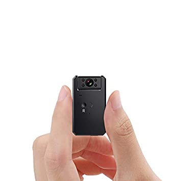Mini Cámara Espía Oculta, WiFi 4K / 1080P Cámara De Acción Portátil Inalámbrica/Detección
