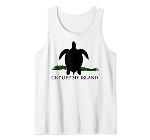 Get Off My Island Tank Top -