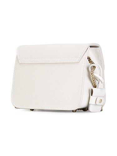 Bolso Mujer Furla Blanco De Hombro 820677 Cuero IdqdR