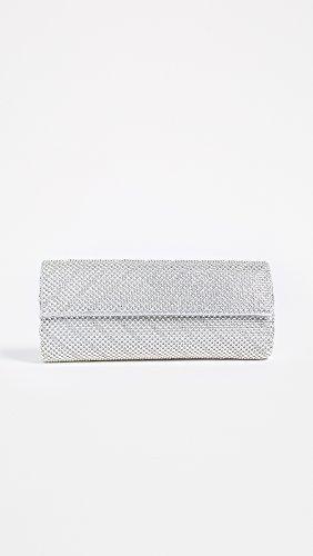 Silver Whiting Chevron Clutch Flap Davis Crystal amp; 4SxYSqwHa