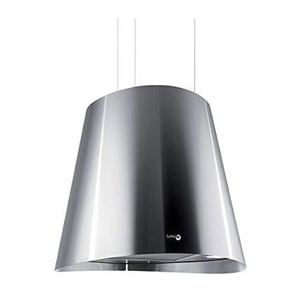 TURBOAIR Cappa Cucina Isola Sospesa Filtrante Tonda Diametro 50 cm ...