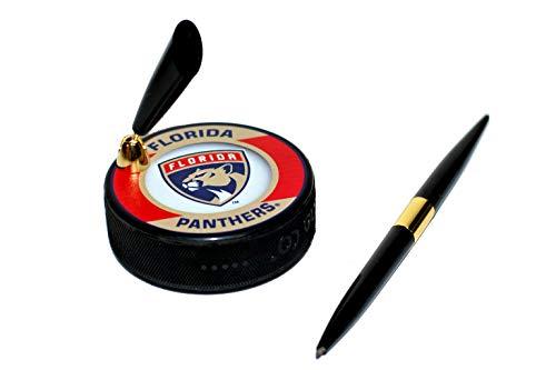(EBINGERS PLACE Florida Panthers Retro Series NHL Hockey Puck Pen Holder)