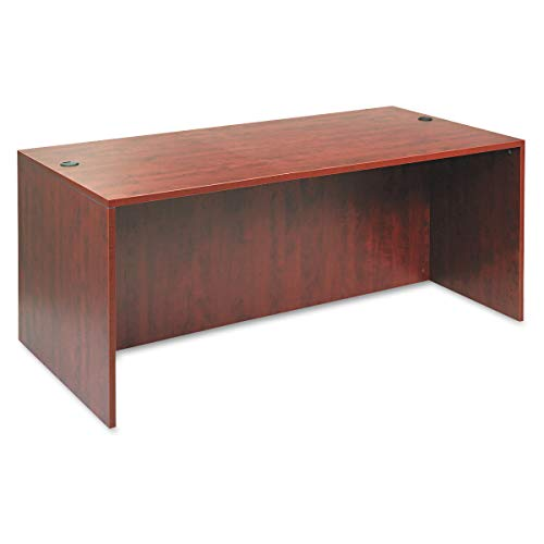 Alera Valencia Series 72 by 36 by 29-1/2-Inch Desk Shell, Medium Cherry