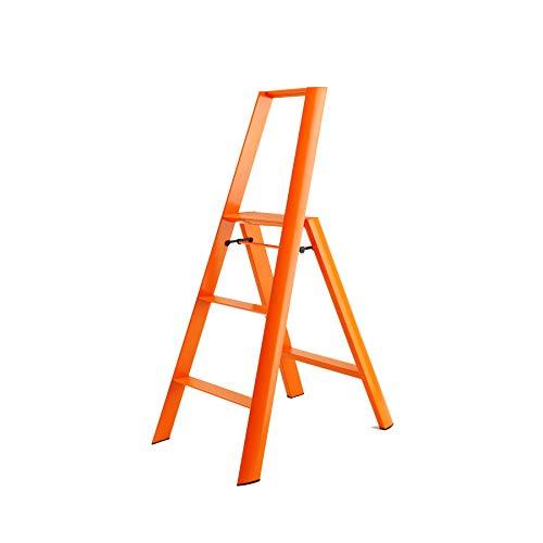 Hasegawa Ladders  Lucano Step Ladder, 3, Orange from Hasegawa Ladders