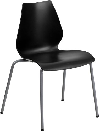 hercules-series-770-lb-capacity-black-stack-chair-with-lumbar-support-and-silver-frame