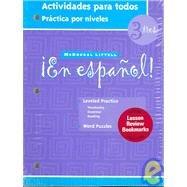 en espanol level 3 - 9