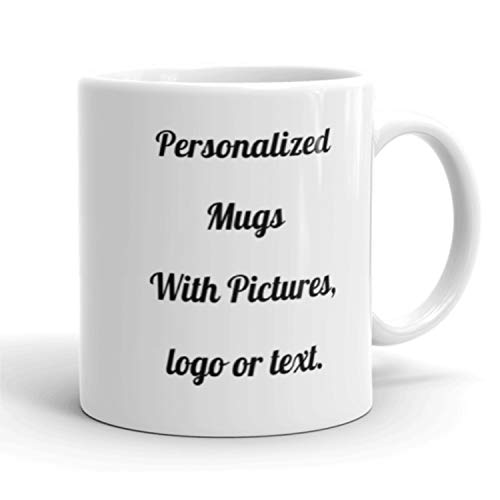 (Personalized Coffee Mug - Add your Pictures, Logo, Text to Custom Mugs (11 Oz) – USA)