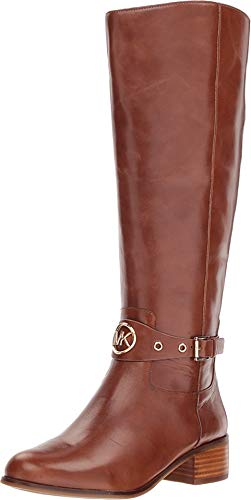Michael Michael Kors Heather Boot Wide Calf Dark Caramel ()