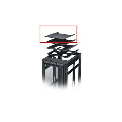 ERK Series Solid or Vented Rackmount Top Finish: Black, Top: Vented