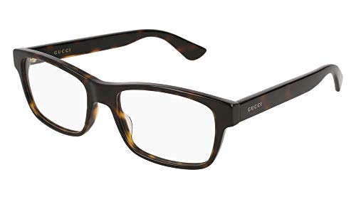 Eyeglasses Gucci GG 0006 O- 011 AVANA /
