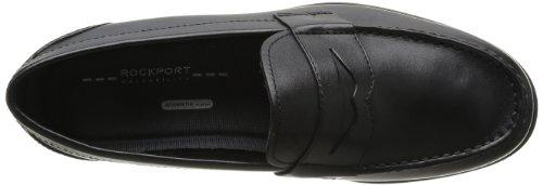 Ville Classic Homme Loafer Noir Chaussures Penny Rockport De q1wXz6T6x