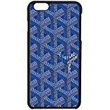 Goyard Blue Case (iPhone 6/6s) / Color Black Plastic