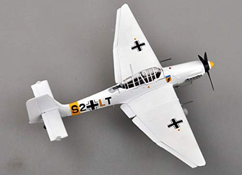 87 Ju Dive Stuka Bomber - Easy Model WW2 German Junkers Ju 87 Stuka Dive Bomber Plane Aircraft Assembled