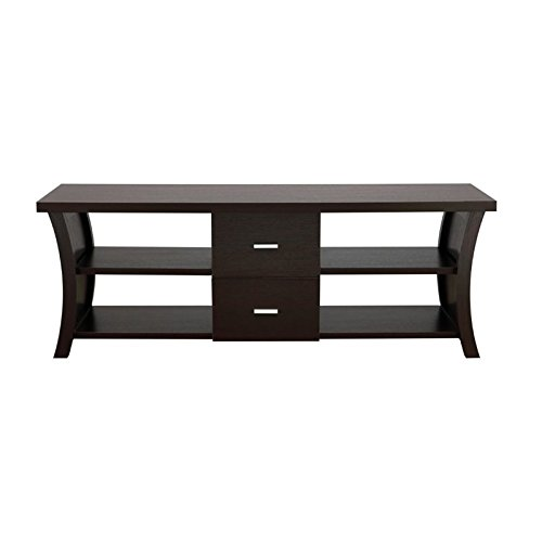 HOMES: Inside + Out ioHOMES Autumn Entertainment Console with Drawer Storage, 60-Inch, Cappuccino