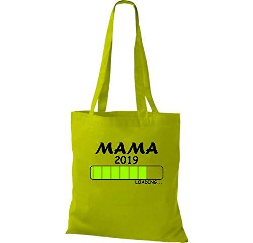 Shirtinstyle Algodón 2017 Loading Tela Kiwi Mamá Bolsa wrxqEw01v
