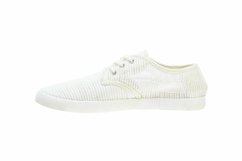 Mens Lacoste Aristide 10 Srm Text Rosso Scuro Off White