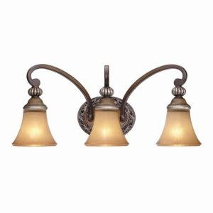 3-Light Caffe Patina Bath Light Caffe Patina (Hampton Bay 3 Light Fixture)