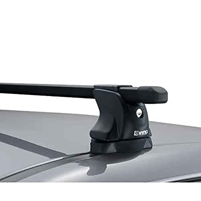 Image of Car Rack Accessories INNO IN-XP Base Stays for Vehicles with Tracks and Fixed Points - Set of 4 (Black)